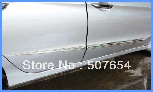 Бесплатная доставка! выше звезда из нержавеющей стали 4 шт. Боковая дверь Streamer/боковой двери бар/боковой двери защиты бар для Honda Crider 2013 - 2