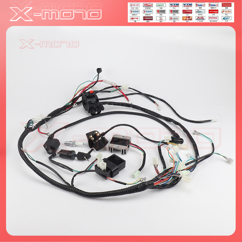 ktm wiring harness full wiring harness loom ignition coil cdi for 150cc 200cc 250cc ktm exc wiring harness full wiring harness loom ignition coil