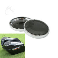 6 5 Vented Lower Fairing Speaker Grill For Harley Touring 88 17 Road Street Electra Glide
