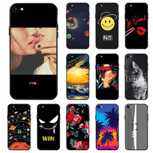 Ojeleye Fashion Black Silicon Case For Meizu Meilan U20 Cases Anti-knock Phone Cover Covers