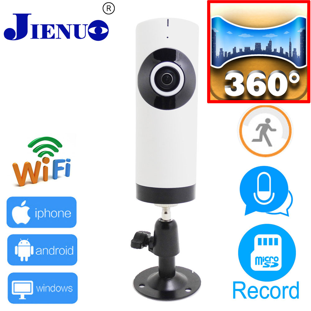 Mini 720P ip camera wifi Home security monitoring system dual channel intercom panoramic cameras font b