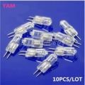 10 unids/lote luz halógena bombilla 20 W 20 W vatios 12 V G4 Base JC tipo S08 de la nave de la gota