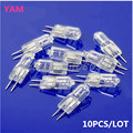 10Pcs/lot Halogen Light Bulb 20W 20 Watt 12V G4 Base JC Type S08 Drop ship