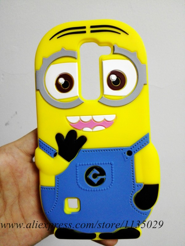 Fashion Cute Cartoon 3D Minions Despicable Me Rubber Silicone Case Back Cover For LG Magna H502F G4c H525N Volt 2 G4 mini