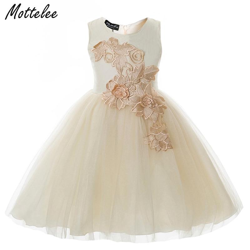 Mottelee fete rochie de flori ochiuri rochii de mireasa rochii de - Haine copii
