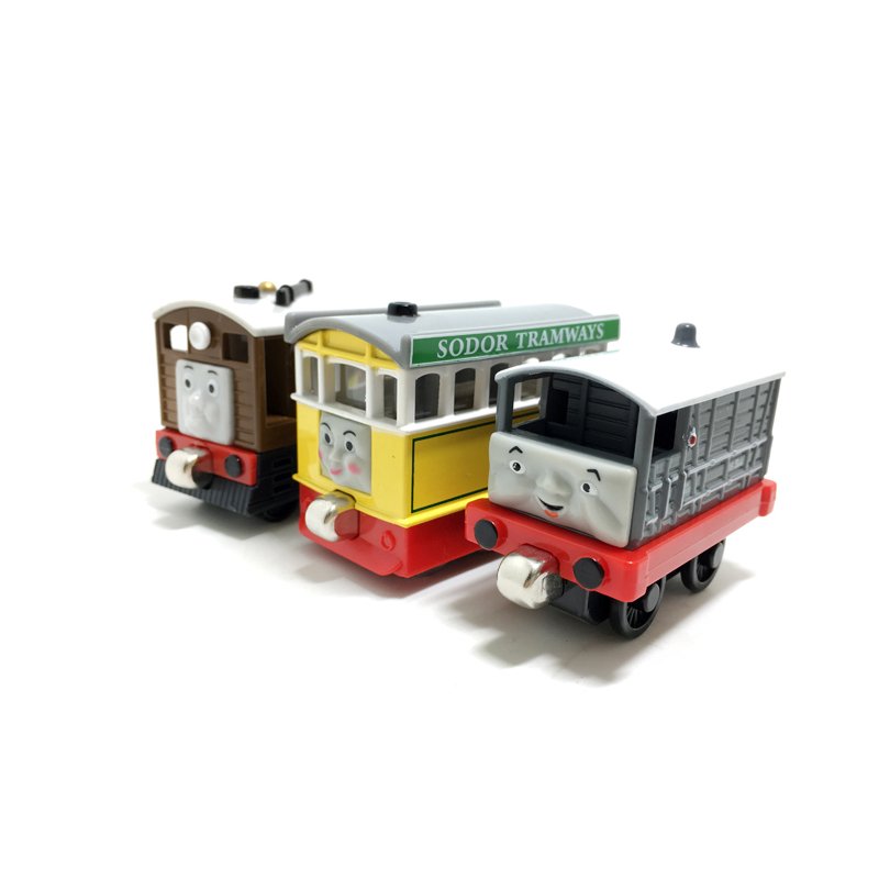 T0155 Diecast Magnetic THOMAS and friend Tobi TOAD and Flora The Tank Engine take along train metal children kids toy gift