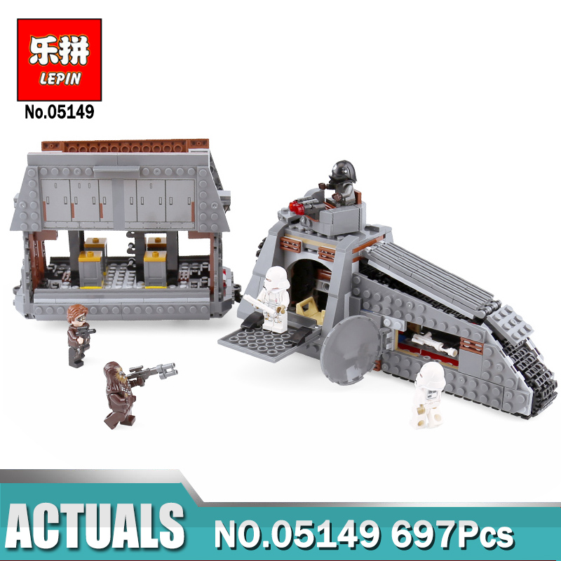 Lepin 05149 Star Series The Imperial Conveyex Transport Compatible Legoing 75217 Wars Building Blocks Kids Assembled DIY Toys lepin 05149 star plan series the 75217 imperial conveyex transport wars set building blocks bricks toys christmas birthday gifts