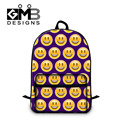 Dispalang Children School Bags For Teenagers Emoji Print Men Women Laptop Backpacks Students Shoulder Schoolbag Book Bag Mochila