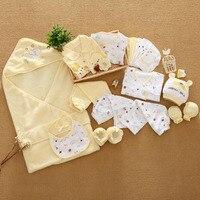 21 Pz/set di Cotone insieme Dei Vestiti del Neonato per Ragazzi Delle Ragazze Del Bambino Del Bambino-vestiti New Born Gift Set