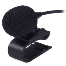 New Hot Universal 3.5mm Wired External Microphone Mic for Car DVD Radio Laptop Stereo Player HeadUnit Cable 3m High Quality