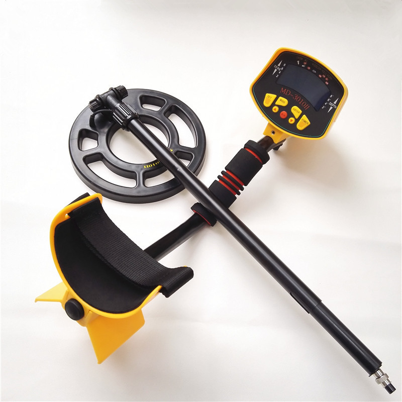 Quality Metal Detector MD3010II Underground Metal Detector Gold High Sensitivity and LCD Display MD-3010II Metal Detector high quality underground highly sensitive metal detector md3010ii for gold hunter