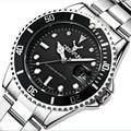2018 новые мужские часы с оленем, роскошные брендовые военные часы, мужские наручные часы со стальным ремешком, спортивные модные водонепрони...