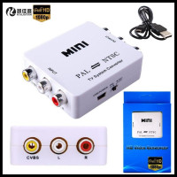 1080P HD MINI TV System Converter PAL To NTSC Adapter Conversion To Each Other For DVD
