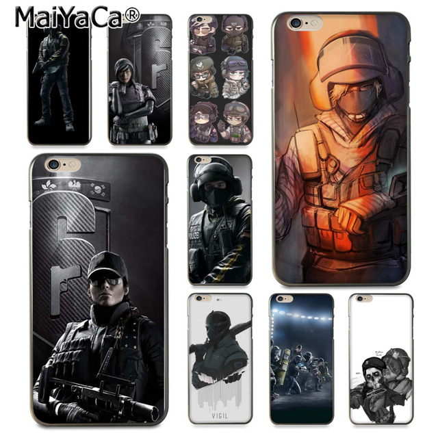 MaiYaCa Voltron Rainbow Six Siege YuGiOh  Luxury High-end  phone Case for iPhone 8 7 6 6S Plus X 10 5 5S SE 5C Coque Shell