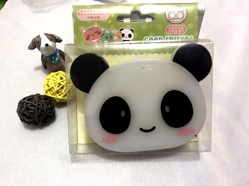 Eyewear Accessories Lovely Contact Lens Box Cute Panda Cartoon Unisex Container For Contact Lens Case Latest Technology