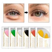10 Pairs = 20PCS LANBENA 24 K Gold Collagen Eye Mask Face Care Ageless Anti Aging Eye Bags Dark Circles Moisturizing Skin Care zildjian 10 k custom dark splash