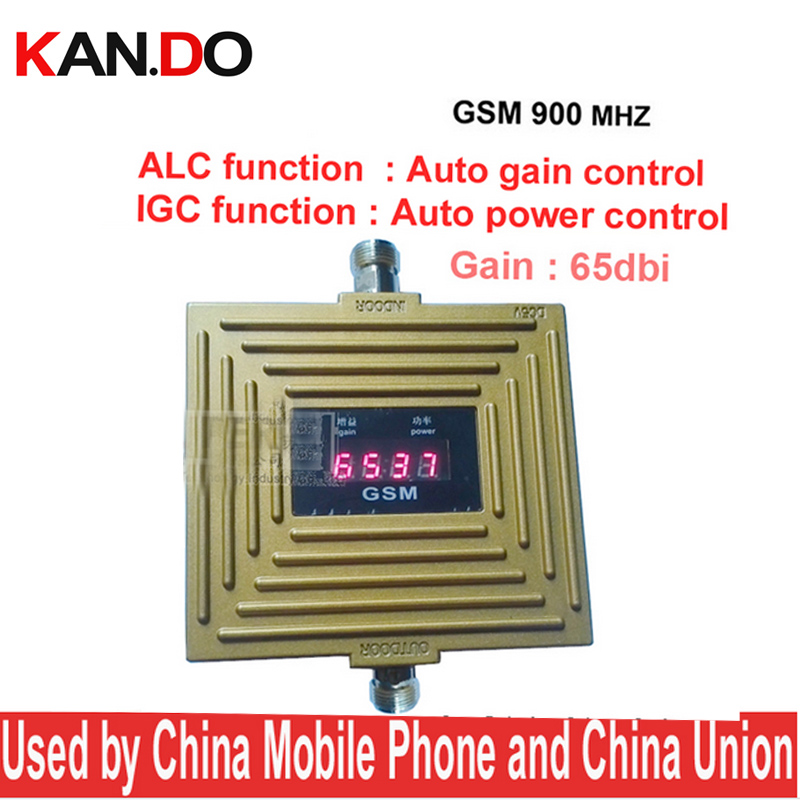 Work In Weak Signal Area GSM 900mhz Booster AGC+ALC Auto Gain Control 65dbi GSM Booster,GSM Repeater,phone Signal Booster