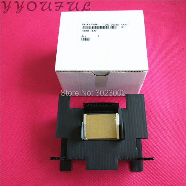 DHL free shipping made in Japan F189010 DX7 printhead for Epson Zhongye Xuli Niprint Allwin Aifa DX7 print head unlock golden
