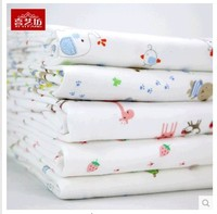 Eco friendly Baby Cotton Knitted Fabric For Baby Bedding Clothes 180*100 cm Free shipping