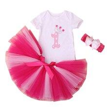 WENDYWU Baby Girl Одежда Для Новорожденных Bebe Одежда Набор Рождество Боди Юбки с Оголовьем Оригинальный Комбинезон Тела Одежда
