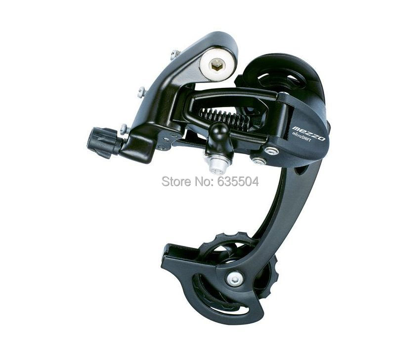 RD-M45L MTB Mountain Bike 89 Speed Rear Derailleur microSHIFT No-confusion Controlling Groupset Compatible for Shimano