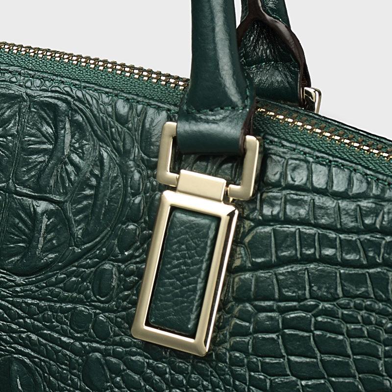 9c27a3b5379 Qiwang Authentieke Vrouwen Krokodil Tas 100% Echt Leer Vrouwen Handtas Hot  Selling Tote Vrouwen Tas Grote Merk Tassen Luxe in Qiwang Authentieke  Vrouwen ...