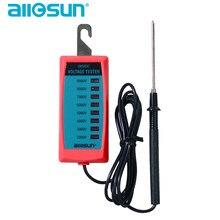 Verificador bonde 2000 v da tensão da cerca do all-sun gk503b gk503c a controlador 9000 v da cerca nenhum verificador da tensão da bateria com lâmpada de néon