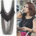 Colar XL271 preto novo 2014 joyeria ciganas collares carvoeiros bijoux bijuterias colares & pingentes de jóias para as mulheres