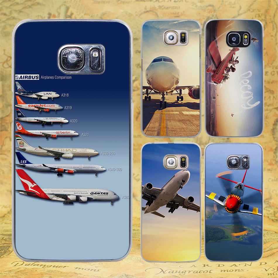 Aloha Summer Stripes Lifes Peachy At The Beach Hard Transparent Original Samsung Clear Cover Casing For Galaxy S8 Plus Ungu Airplane Sunrise Aircraft Plane Design Case