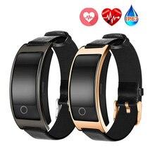 Smart Band CK11S Приборы для измерения артериального давления сердечного ритма Мониторы наручные часы умный Браслет Фитнес трекер IP67 Водонепроницаемый группа
