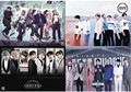 8 pcs/set different designs A3 Posters KPOP BTS Bangtan Boys Paintings Wall Pictures Free shipping