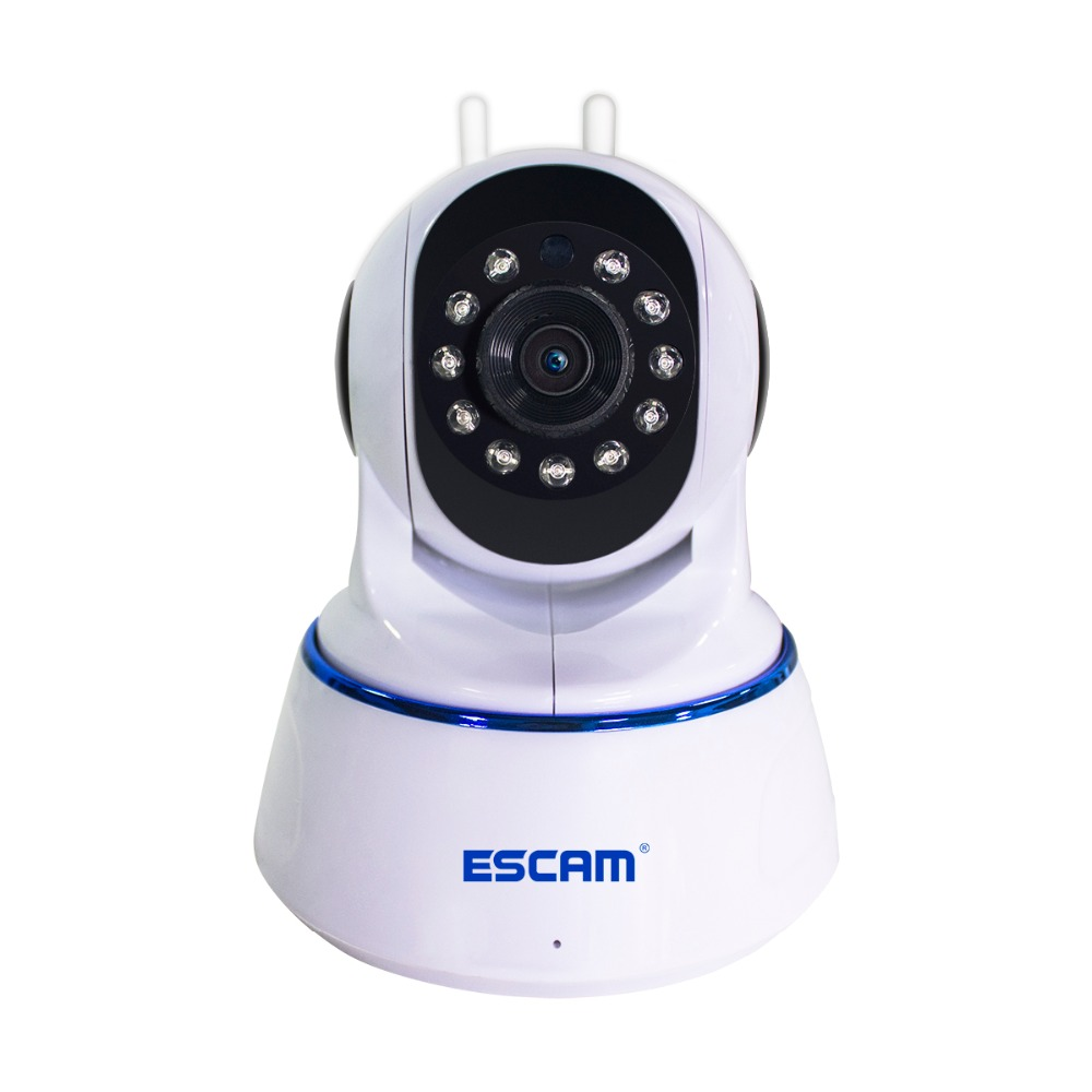 Escam QF003 Wifi Mini Household IP Camera 2.0MP HD P2P indoor Surveillance Night Vision Security CCTV Camera Support 64G TFcard select indoor five 852708 003 размер 4