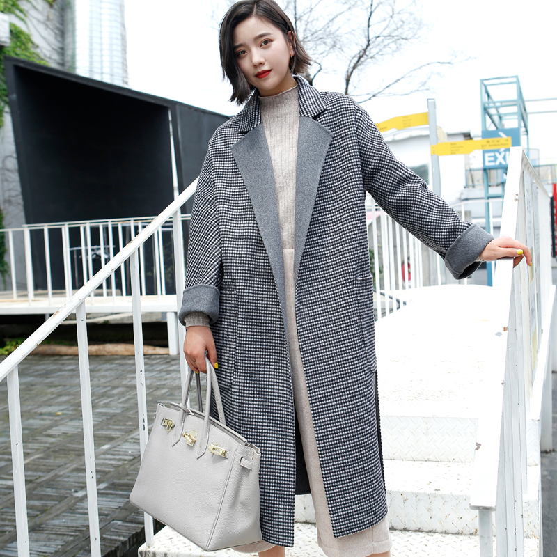 New 2018 Wool Jackets Office Fashion Coats Camel With Belt Cashmere Overcoats Coat Winter Jackets Trench Pure Wool