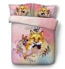 Fox Bedding set Flow...