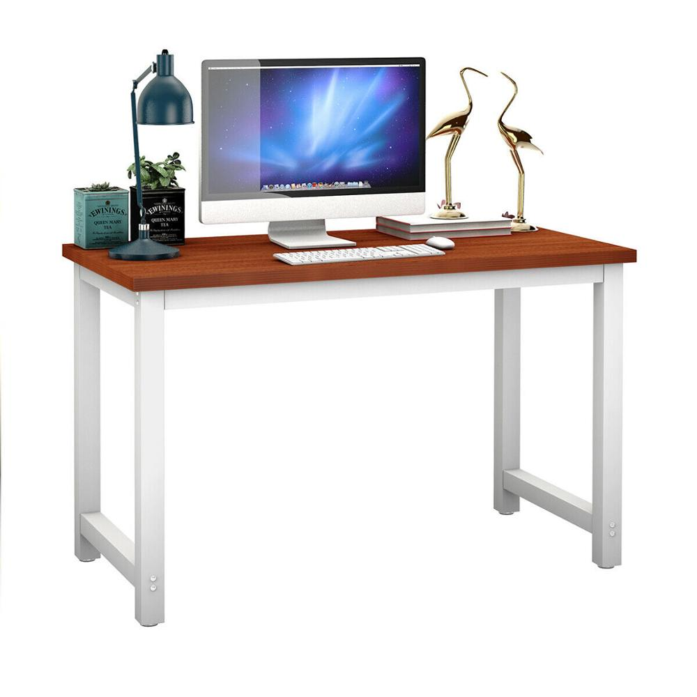Giantex Wood Computer Desk PC Laptop Table Study Workstation Home Office Furniture Coffee New HW53853CF