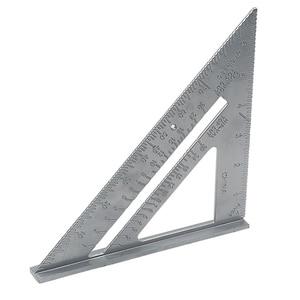 Image 5 - Inglete transportador cuadrado de velocidad de aleación de aluminio, guía de corte tricuadrado, regla de carpintero, 1 ud.
