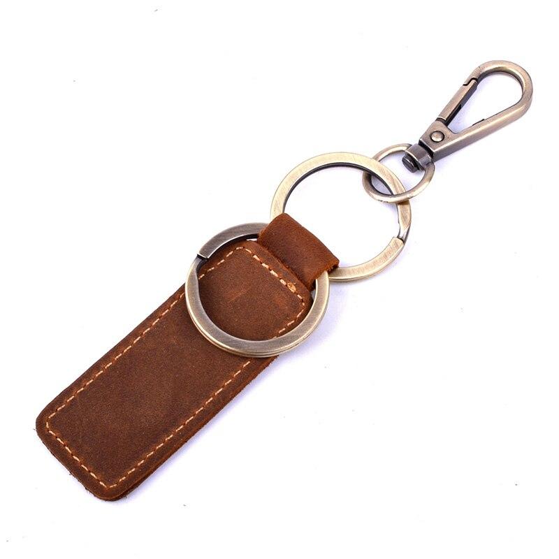 Klsyanyo Vintage Genuine Leather font b Key b font font b Wallet b font Women Keychain