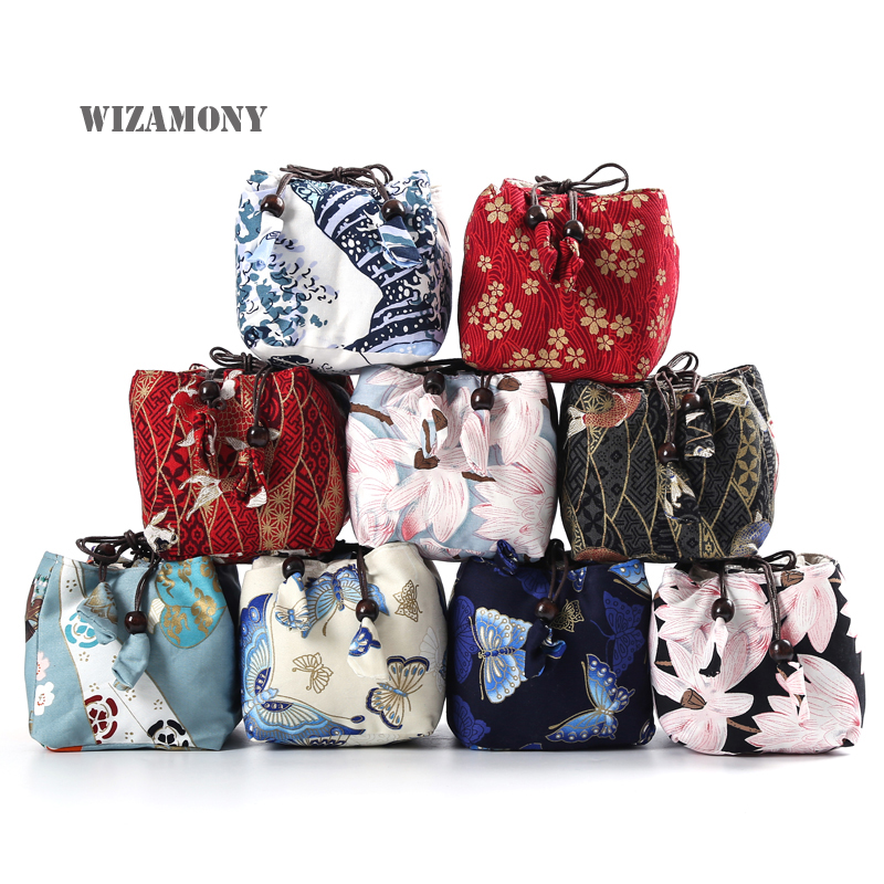 WIZAMONY Sample Cup and pot Cloth bag cotton and linen Tea Cozies Storage Bags Thicken with Soft Nap Hop-pocket Cloth BagWIZAMONY Sample Cup and pot Cloth bag cotton and linen Tea Cozies Storage Bags Thicken with Soft Nap Hop-pocket Cloth Bag
