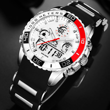 Readeel brand men sports watches 2 time zone man fashion watch rubber digital quartz wristwatches relogio masculino clock male men sports watches boamigo brand man watch quartz digital wristwatches male rubber white clock relogios masculino reloj hombre