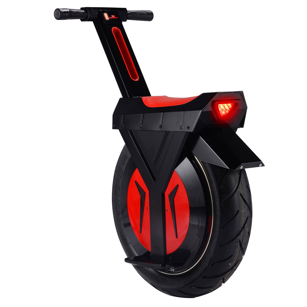 Sit Down Scooter >> Us 2051 2 2018 New Arrival Hot Sale 17inch Sit Down Big Wheel Electric 60v 500w One Wheel Self Balancing Unicycle Led Wireless Speaker In Self
