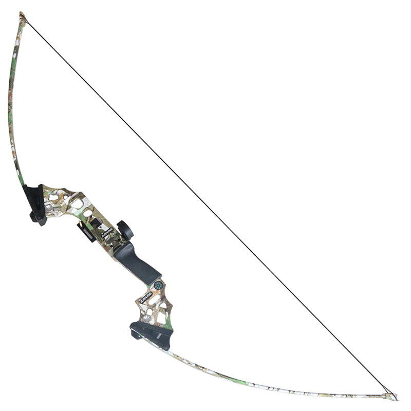 1 piece camo bow riser archery straight bow fishing 40lbs shooting game outdoor competition bow 51 inch shooting straight