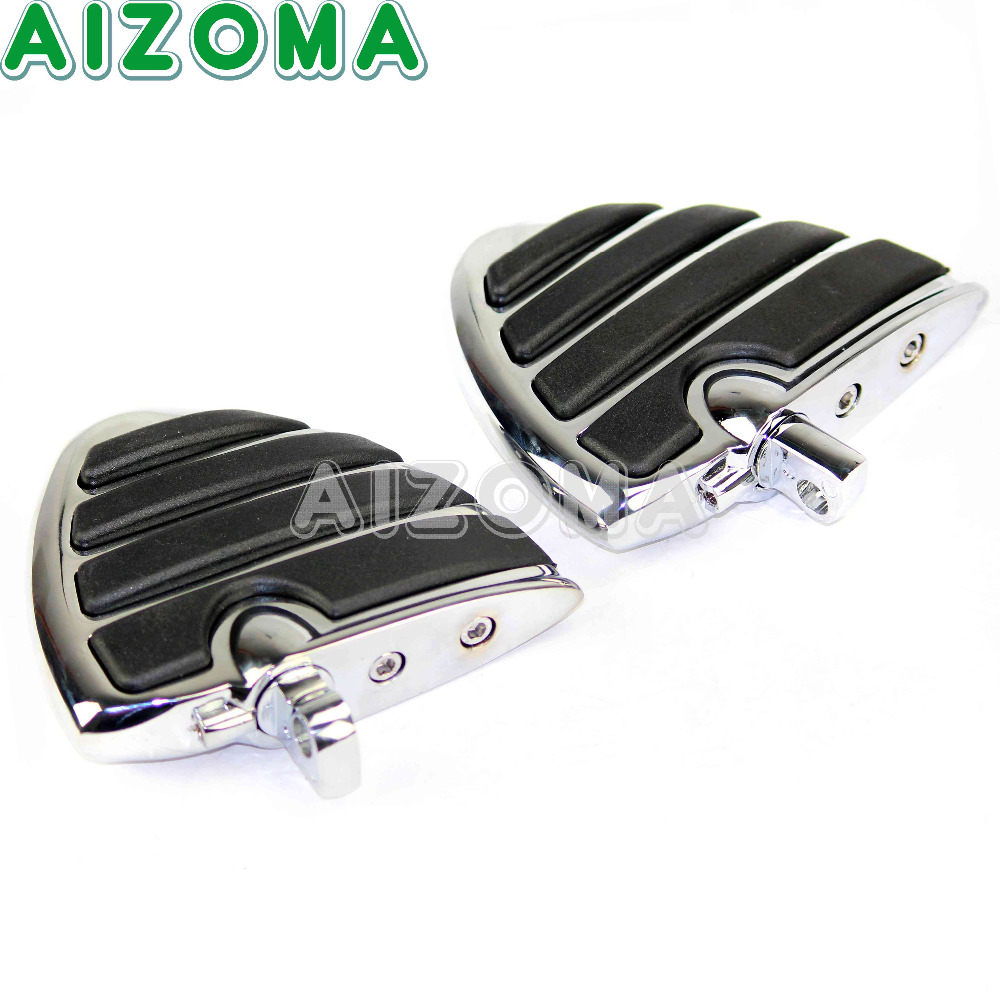 1 Pair Motorcycle Front Rear Wing FootRests Foot Pegs for Harley Honda Suzuki Yamaha Chrome Male Mount Billet Footpegs Foot Rest1 Pair Motorcycle Front Rear Wing FootRests Foot Pegs for Harley Honda Suzuki Yamaha Chrome Male Mount Billet Footpegs Foot Rest