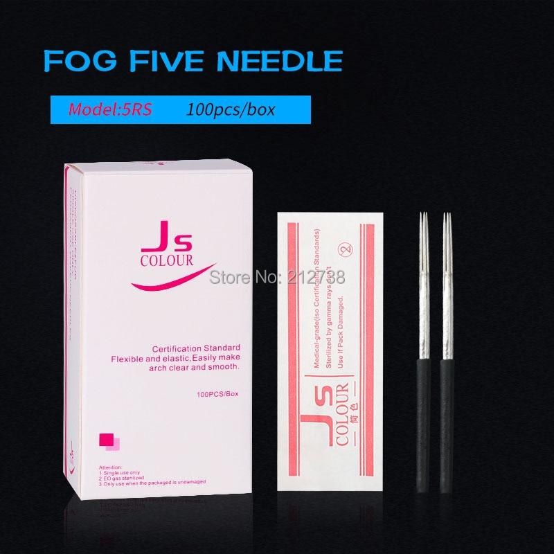 100 Pcs 3RL 5RS  Needles For Manual Pen Semi Permanent Makeup Manual Fog Microblading Eyebrow Pen Fog Needles High Quality