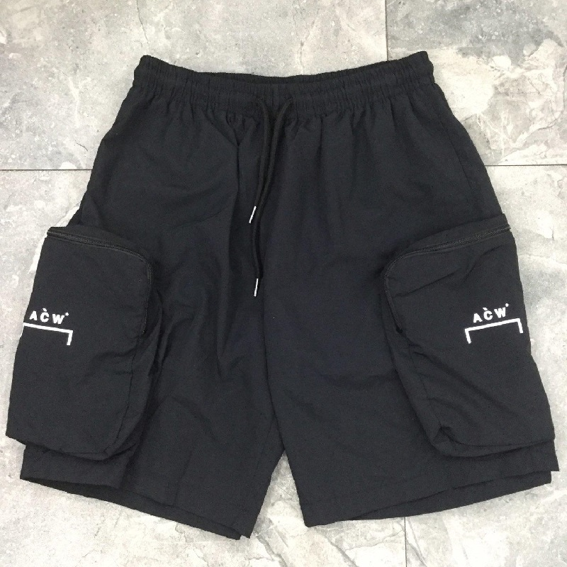 19ss A-COLD-WALL ACW Shorts Men Women Sweatpants Kanye West Sport Breathable Shorts Streetwear A-COLD-WALL ACW Beach Shorts