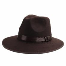 Vintage Unisex Blower Jazz Hat Trilby Derby Cap Retro Fedora Style Hats 2 Colors