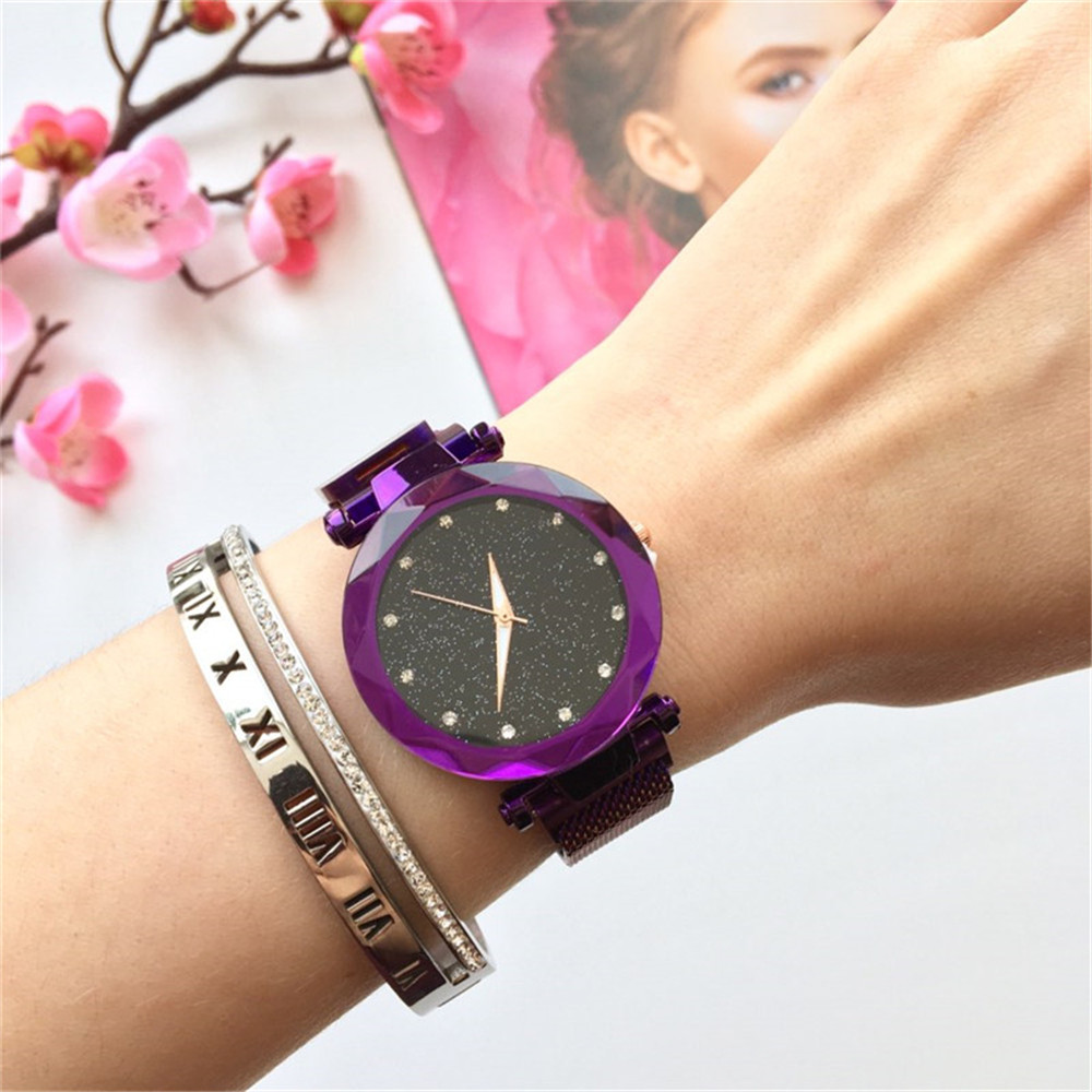 fashion-women-watches-2019-best-sell-star-sky-dial-clock-luxury-rose-gold-women's-bracelet-quartz-wrist-watches-new