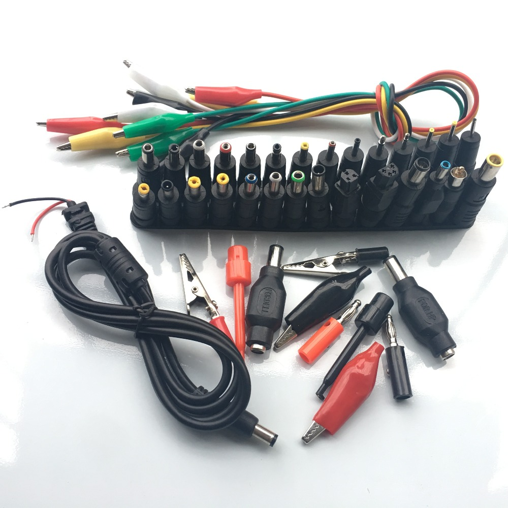 44 In 1 Universal Laptop Ac Dc Jack Power Supply Adapter Connector Wiring Plug For Hp Ibm Dell Apple Lenovo Acer Toshiba Notebook Cable Connectors From Lights