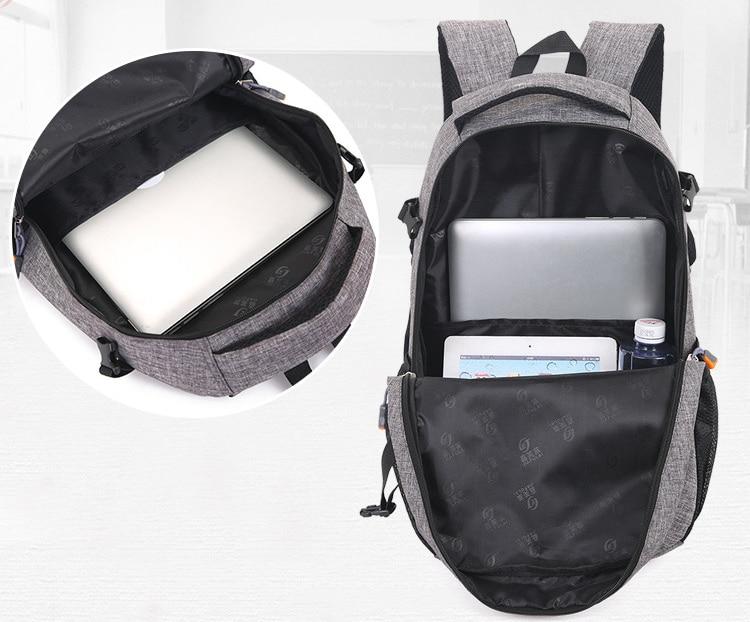 30l mochilas escola daypack acampamento mochila saco