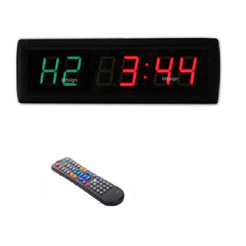 Led Crossfit Interval Training Timer 1 8 Inch High 6