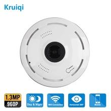 Kruiqi Home Security IP Camera 960P Wireless Smart WiFi WI-FI Audio Record Surveillance Baby Monitor HD Mini CCTV